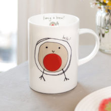 Hello! Fancy a brew? mug
