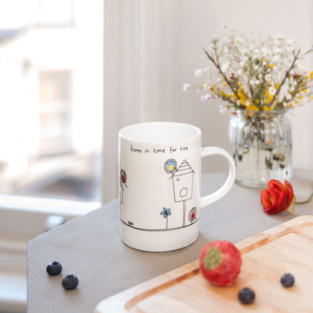 Home in time for tea mug