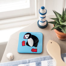 Puffin boots coaster