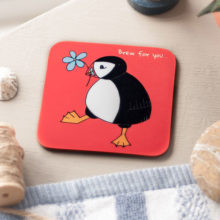 Brew for you coaster
