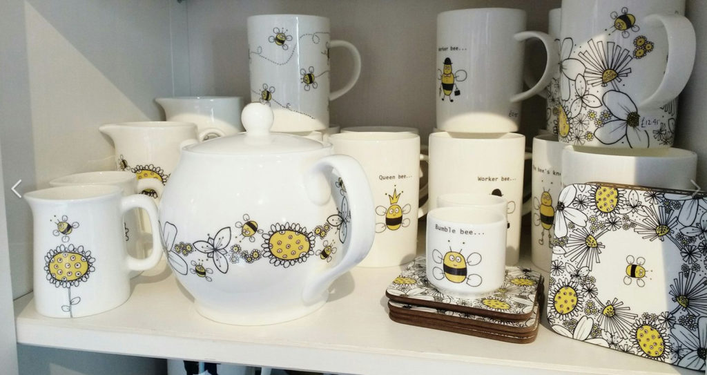 My Flower Garden bee range on display at Maisie & Mac