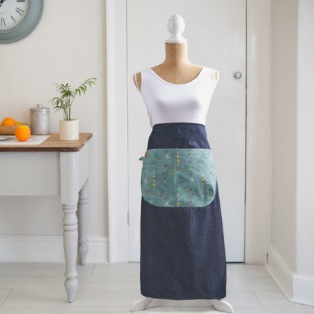 Butterfly flurry apron