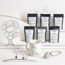 Home in time for tea gift box