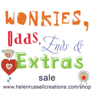 Wonkies, odds, ends & extras sale