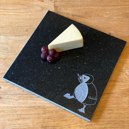 Hungry puffin granite chopping board