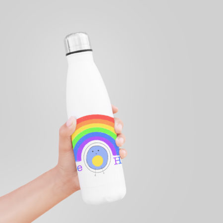 Love and hope water bottle